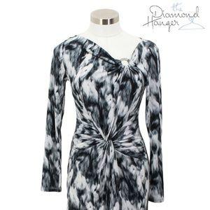A44 MICHAEL KORS Designer Dress Size Medium M 8 10